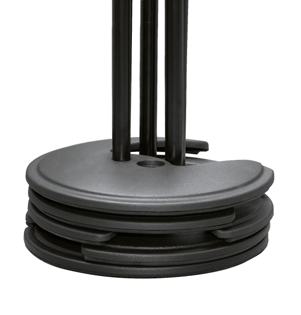 Stackable microphone stand