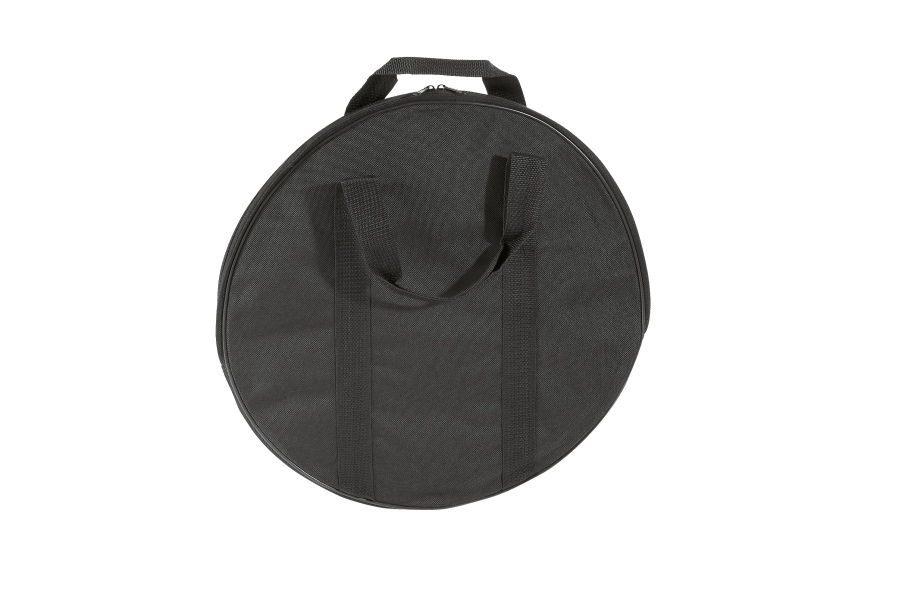 Carrier bag for round base