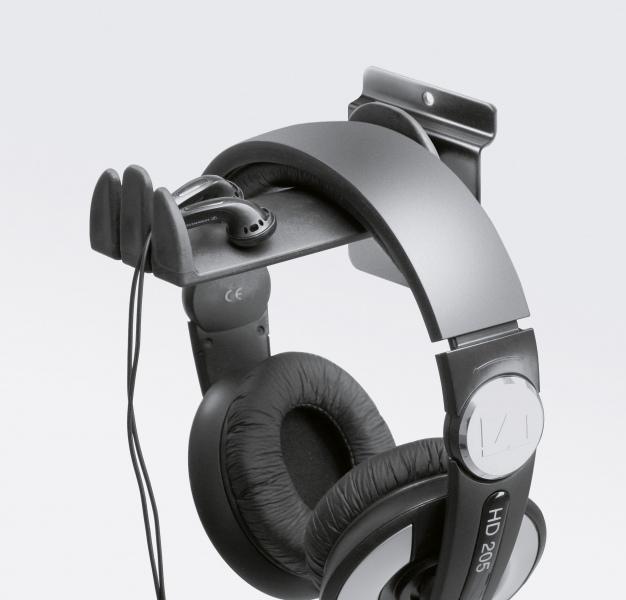 Product holder for headphone