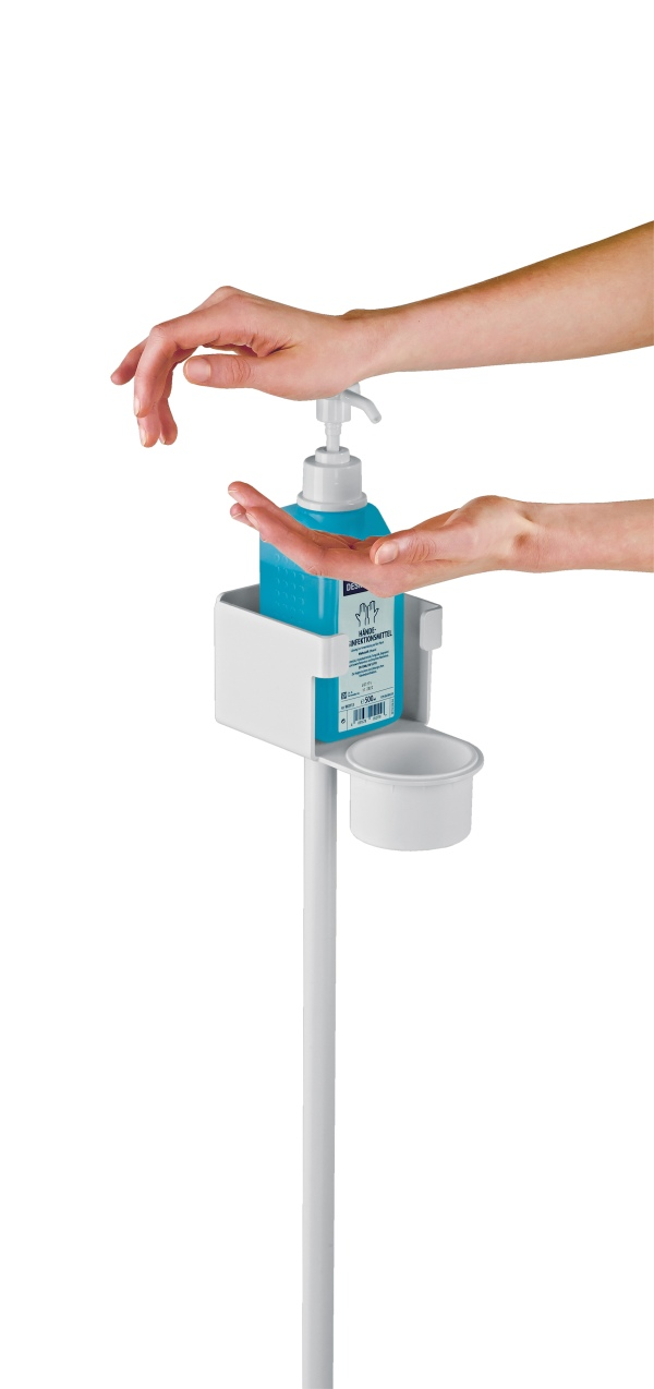 Disinfectant stand