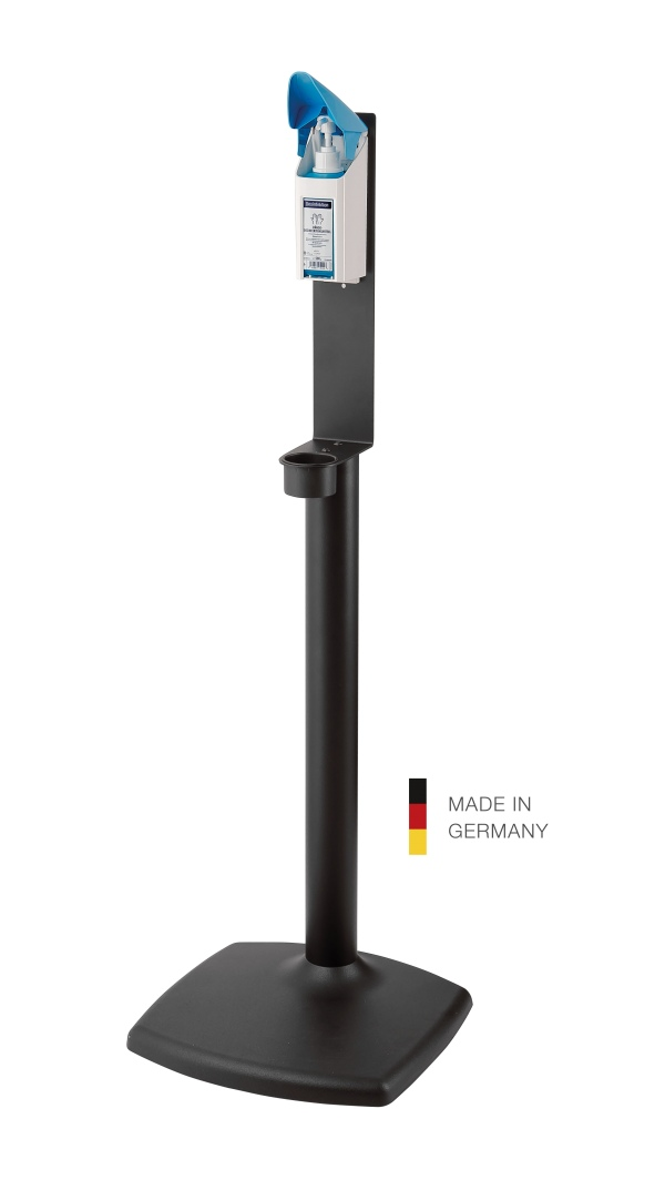 Disinfectant column stand